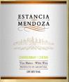 门多萨守护霞多丽白诗南干白葡萄酒(Estancia Mendoza Chardonnay-Chenin,Mendoza,Argentina)