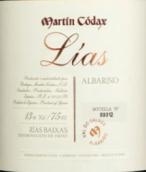马丁歌达仕莱亚斯阿尔巴利诺白葡萄酒(Bodegas Martin Codax Lias Albarino, Rias Baixas, Spain)