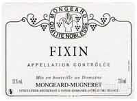 奇梦菲克桑干红葡萄酒(Domaine Mongeard Mugneret Fixin, Cote de Nuits, France)