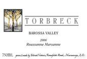 托布雷玛珊-瑚珊干白葡萄酒(Torbreck Marsanne - Rousanne, Barossa Valley, Australia)