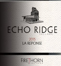 回声岭酒庄回音干红葡萄酒(Echo Ridge Cellars La Reponse,Columbia Valley,USA)