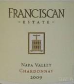 福思肯霞多丽干白葡萄酒(Franciscan Chardonnay, Napa Valley, USA)