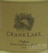 仙鹤湖琼瑶浆干白葡萄酒(Crane Lake Gewurztraminer,California,USA)