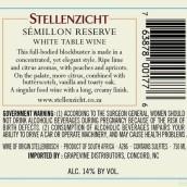 思坦伦赛美蓉珍藏干白葡萄酒(Stellenzicht Semillon Reserve,Stellenbosch,South Africa)