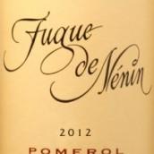 列兰副牌干红葡萄酒(Fugue de Nenin,Pomerol,France)