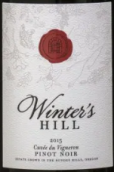 冬山种植者特酿黑皮诺红葡萄酒(Winter's Hill Vineyard Cuvee du Vigneron Pinot Noir, Dundee Hills, USA)