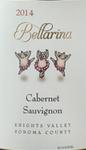 厄莱家族酒庄芭蕾舞女赤霞珠干红葡萄酒(Ehret Bellarina Cabernet Sauvignon, Knights Valley, USA)