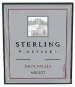 思令酒庄梅洛干红葡萄酒(Sterling Vineyards Merlot, Napa Valley, USA)