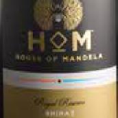 曼德拉酒庄皇家珍藏西拉干红葡萄酒(House of Mandela Royal Reserve Shiraz,Stellenbosch,South ...)
