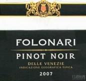 弗伦纳里维内兹黑皮诺干红葡萄酒(Folonari Pinot Noir delle Venezie,Italy)