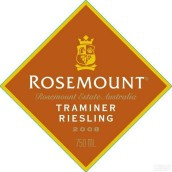 若诗庄园钻石标琼瑶浆-雷司令干白葡萄酒(Rosemount Estate Diamond Label Traminer - Riesling, South Eastern Australia, Australia)