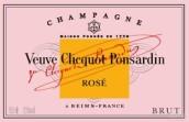凯歌干型桃红香槟(Champagne Veuve Clicquot Ponsardin Brut Rose, Champagne, France)