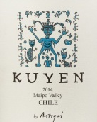 安提亚库岩混酿干红葡萄酒(Antiyal Kuyen Mezcla Tinta, Maipo Valley, Chile)