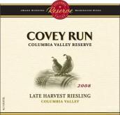 科维珍藏迟摘雷司令干白葡萄酒(Covey Run Reserve Late Harvest Riesling, Washington, USA)