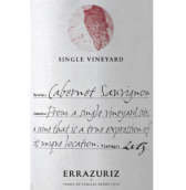 伊拉苏单一园赤霞珠干红葡萄酒(Errazuriz Single Vineyard Cabernet Sauvignon,Aconcagua ...)