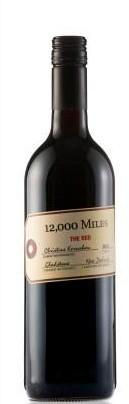 格拉斯顿一万二英里混酿红葡萄酒(Gladstone Vineyard 12,000 Miles The Red,Wairarapa,New ...)