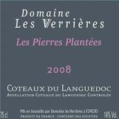 瓦瑞尔莱斯酒庄皮埃尔园干红葡萄酒(Domaine Les Verrieres de Montagnac Les Pierres Plantees, Coteaux du Languedoc, France)