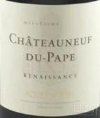 沙邦复兴干白葡萄酒(Roger Sabon Renaissance,Chateauneuf du Pape,France)