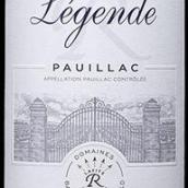 拉菲传奇波雅克干红葡萄酒(Barons de Rothschild Collection(Lafite)Legende,Pauillac,...)