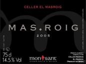 马斯洛马罗伊干红葡萄酒(Celler El Masroig ' Mas Roig',Montsant,Spain)