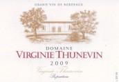 维珍妮·桑内文酒庄干红葡萄酒(Domaine Virginie Thunevin,Bordeaux,France)
