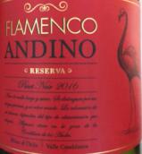 弗朗门科酒庄珍藏黑皮诺干红葡萄酒(Flamenco Andino Reserva Pinot Noir,Valle Casablanca,Chile)