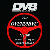 DV8酒庄超速档西拉珍藏干红葡萄酒(DV8 Cellars Overdrive Syrah Reserve, Ballard Canyon, USA)
