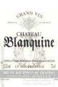 布朗基纳酒庄名誉特酿干红葡萄酒(Chateau Blanquine Cuvee Prestige,Bergerac,France)