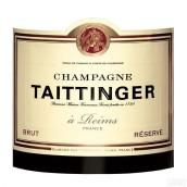 泰亭哲珍藏极干型香槟(Champagne Taittinger Reserve Brut, Champagne, France)