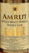 阿慕双桶单一麦芽威士忌(Amrut Double Cask Single Malt Whisky, Bangalore, India)