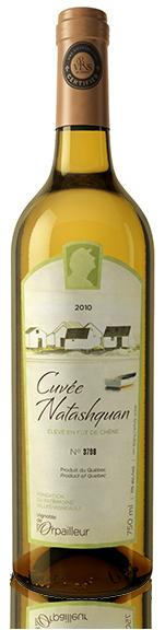 奥派勒贵族酒窖纳塔什坤干白葡萄酒(Vignoble de l'Orpailleur Cuvee Prestige Natashquan,Canada)