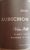 奥比崇比斯达山黑皮诺干红葡萄酒(Aubichon Vista Hills Pinot Noir,Oregon,USA)