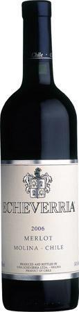 埃切维里亚梅洛干红葡萄酒(Echeverria Merlot, Maule Valley, Chile)