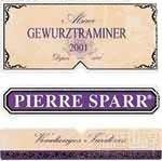 Pierre Sparr Gewurztraminer Vendange Tardive,Alsace,France