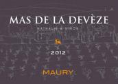 迪维茨酒庄莫里干红葡萄酒(Mas de la Deveze Maury Rouge Sec, Languedoc-Roussillon, France)