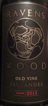 乌鸦之木老藤仙粉黛干红葡萄酒(Ravens Wood Old Vine Zinfandel,Central Coast,United States)