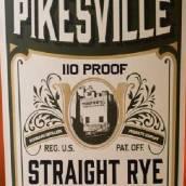 派克斯维尔110美制酒度纯黑麦威士忌(Pikesville 110 Proof Straight Rye Whiskey,Kentucky,USA)