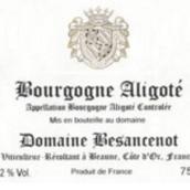 贝桑瑟诺酒庄勃艮第阿里高特干白葡萄酒(DomaineBesancenot Bourgogne Aligote,Beaune,France)