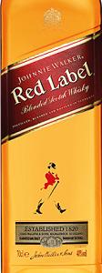 尊尼获加红牌苏格兰调和威士忌(Johnnie Walker Red Label Blended Scotch Whisky,Scotland,UK)