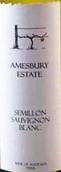 埃姆斯伯里庄园赛美蓉-长相思混酿干白葡萄酒(Amesbury Estate Semillon Sauvignon Blanc,Riverina,Australia)