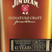 占边标志性精酿12年肯塔基纯波本威士忌(Jim Beam Signature Craft 12 Years Kentucky Straight Bourbon ...)
