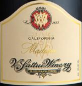 维沙托马德拉甜红葡萄酒(V. Sattui Madeira, California, USA)