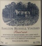 汉密尔顿黑皮诺红葡萄酒(Hamilton Russell Vineyards Hemel-en-Aarde Valley Pinot Noir, Walker Bay, South Africa)