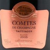 泰亭哲香槟伯爵桃红香槟(Champagne Taittinger Comtes de Champagne Rose,Champagne,...)