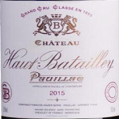 奥巴特利酒庄红葡萄酒(Chateau Haut-Batailley, Pauillac, France)