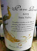 帕维里尔酒庄泰拉罗亚特级珍藏红葡萄酒(Pave Real Tierra Roja Gran Riserva,Itata Valley,Chile)
