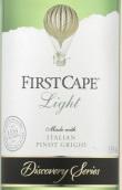 海角探索系列灰皮诺干白葡萄酒(First Cape Discovery Series Light Pinot Grigio, Italy)