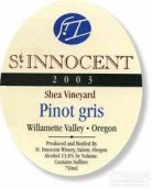 圣纯洁牛油果园灰皮诺干白葡萄酒(St. Innocent Shea Vineyard Pinot Gris, Willamette Valley, USA)