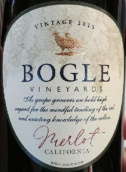 格尔酒庄梅洛干红葡萄酒(Bogle Vineyards Merlot, California, USA)