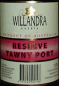 威兰德拉庄园珍藏茶色波特酒(Willandra Estate Reserve Tawny Port,Riverina,Australia)